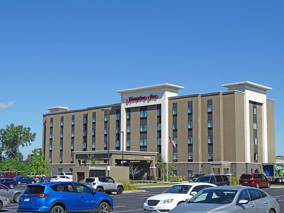Hampton Inn Roseville New
