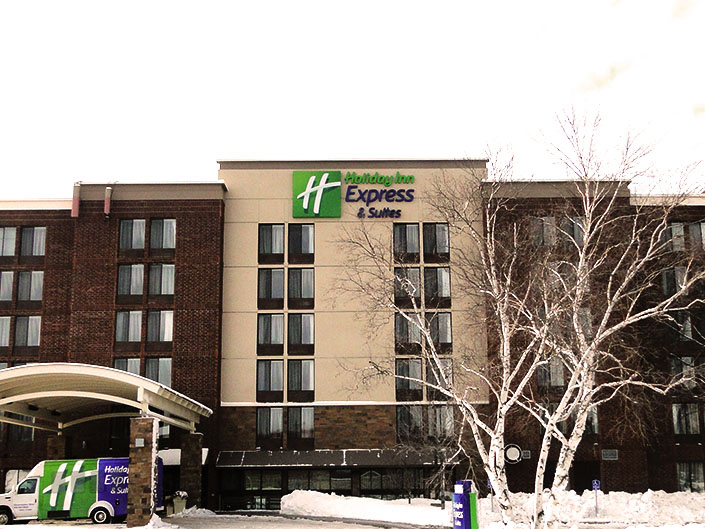 Lodging Holiday Inn Express Bloomington
