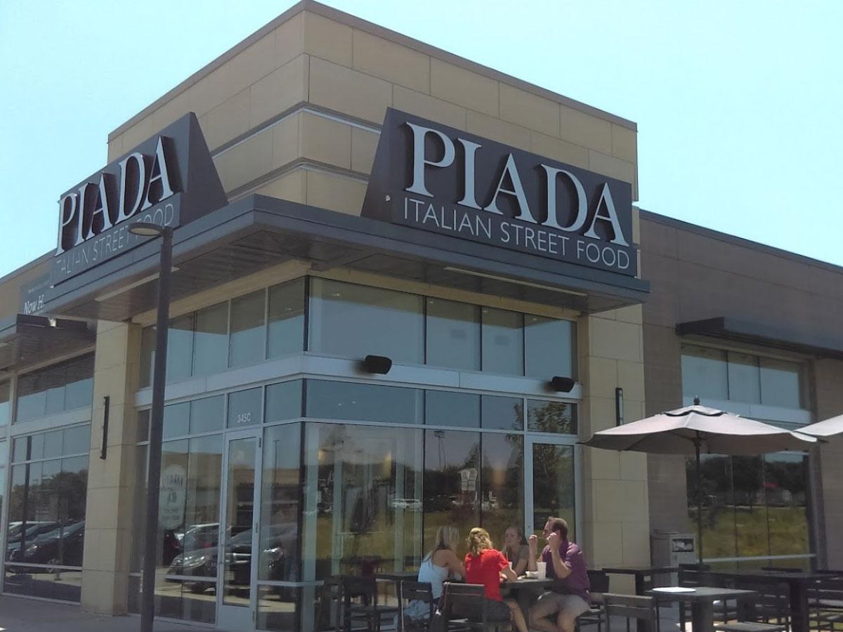 Restaurant Piada Woodbury