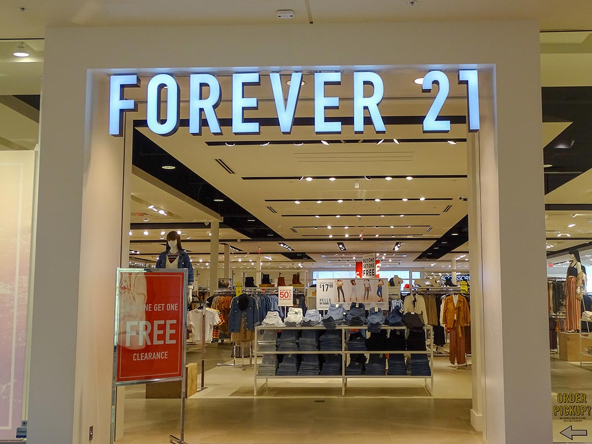 Retail Forever 21 St Cloud